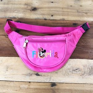 Disney Minnie Mouse Florida Fanny Pack Pink